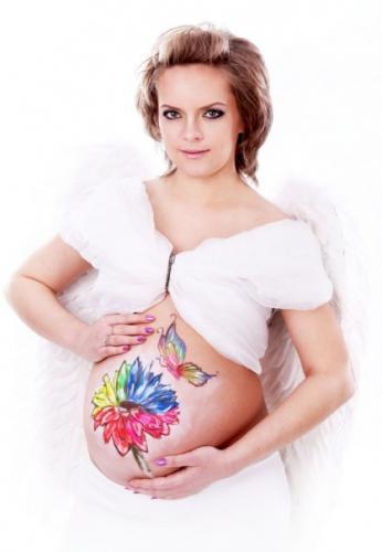 беременные девушки фото роды эротика