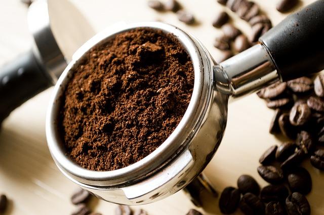 Молотый кофе от запаха в микроволновой печи