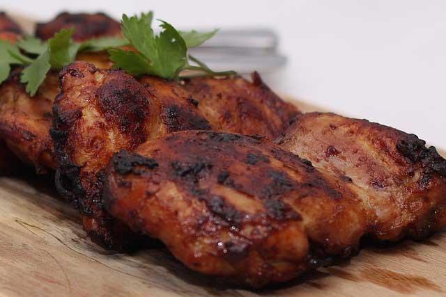 Пригоревшая курица