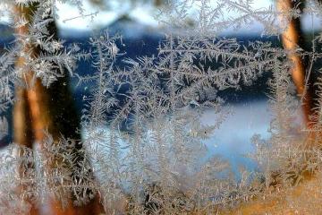 Замерзшее окно