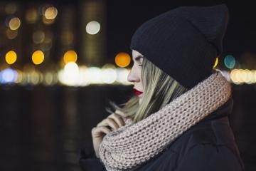 Женский шарф-петля