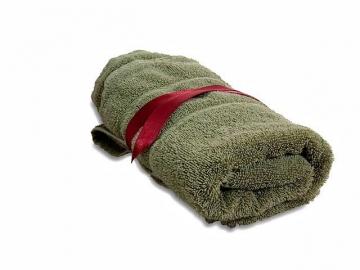 Старое махровое полотенце
