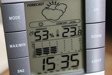 Влажность в квартире