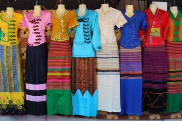 Модные принты и узоры, сочетания цветов в одежде
