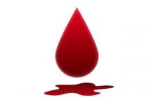 Пятно крови