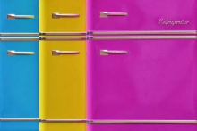Как покрасить холодильник
