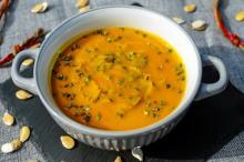 Рецепт диетического супа с тыквой и цыпленком