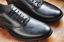 Белые разводы на обуви