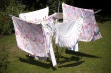 Как сушить белье
